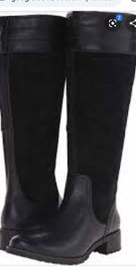 NWOT Timberland Bethel Black Suede Boots 8.5